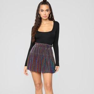 Fashion Nova Rainbow Skirt